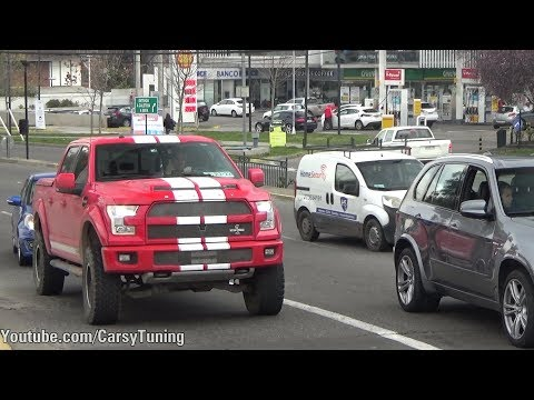 Supercars in Santiago Chile Vol 46 - Shelby F150, 720S, Huracan Oakley, Gallardo Bicolore and more!