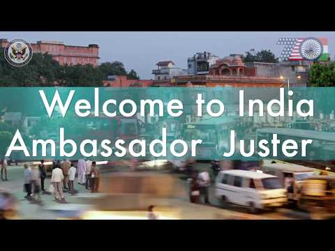 Mission India welcomes Ambassador Juster