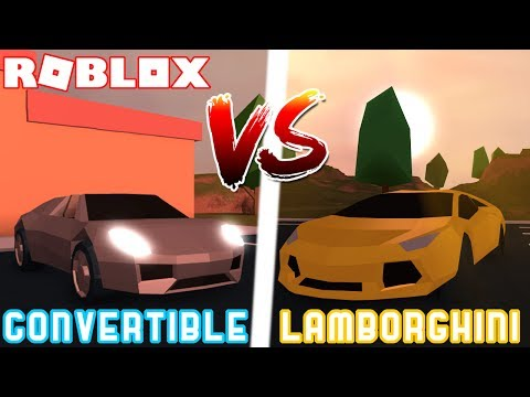 convertible-vs-lamborghini-in-jailbreak-roblox!-lambo-vs-porsche