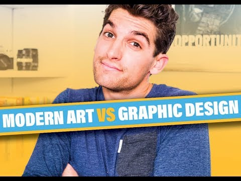 Graphic Design Vs Modern Art
