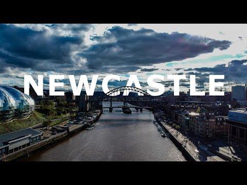 Newcastle upon Tyne, England | DJI Spark