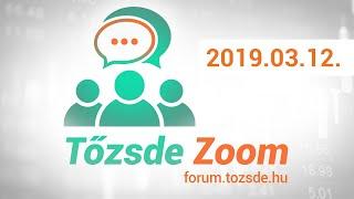 Tőzsde Fórum #2 (2019.03.12)