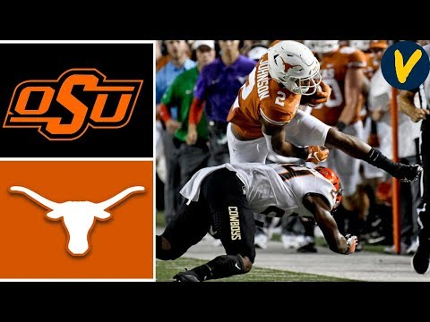 NCAAF Week 4 Oklahoma State Vs #12 Texas College Football Full Game Highlights