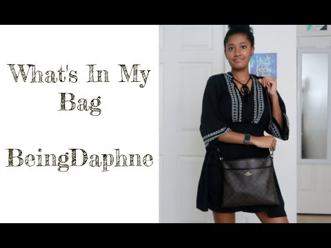 What's In My Bag - Coach | BeingDaphne