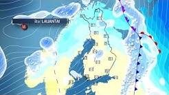 Sadealue liikkuu Suomen yli itään