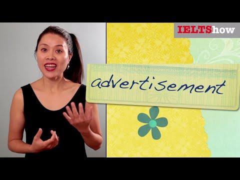 IELTS Speaking: ADVERTISEMENT [Luyện thi IELTS theo đề mới nhất]