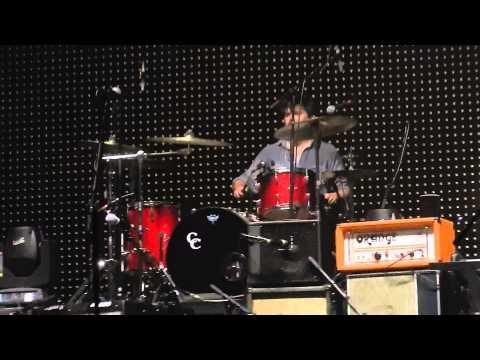 Winnie on Drums - Mumford & Sons - Forest Hills August 28, 2013