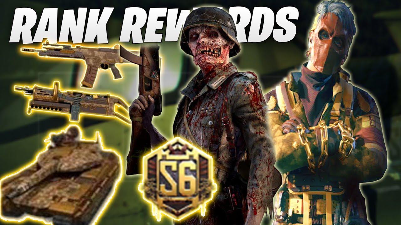 COD Mobile Season 6 Rank Rewards (Call of Duty Mobile Season 9 Free Rewards)