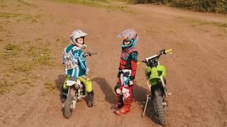 Мотокросс, детская тренировка - Кристиан Старший - Мотоспорт