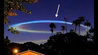 SEVERAL people saw it EARLY this morning from FAR away!