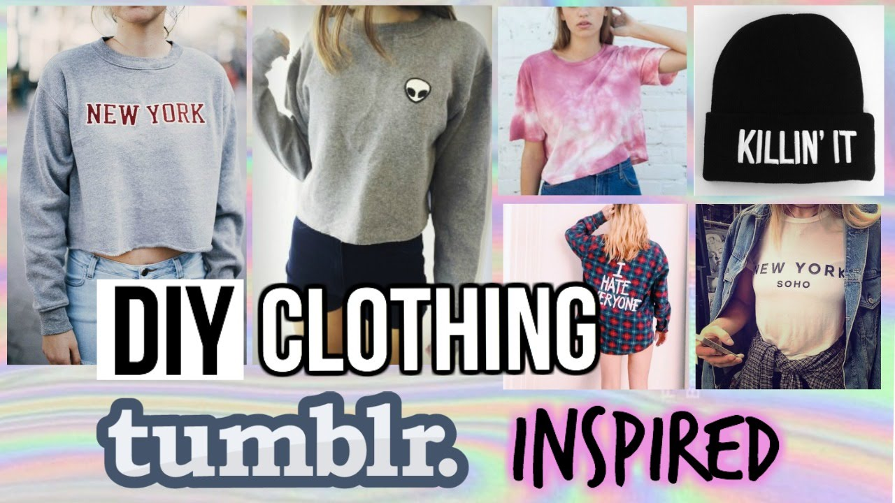 Diy Fallwinter Clothing Tumblr And Brandy Melville Inspired Youtube