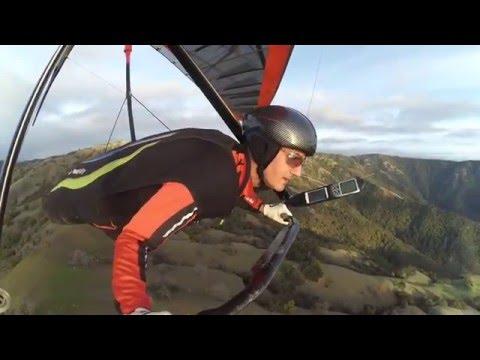 hang gliding big sur