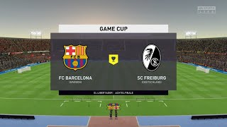 Game cup fc barcelona vs sc freiburg ...