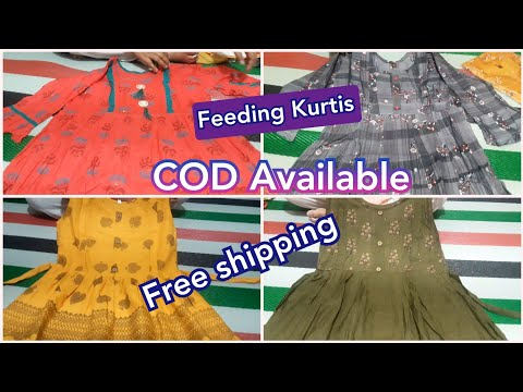 Feeding kurtis with price & Address | Cash on delivery, Free shipping & courier Available