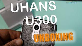 UHANS U300 Review MT6750 Octa Core 13/5 MP 4/32 GB Fingerprint ID IP65 - Unboxing (Deutsch)