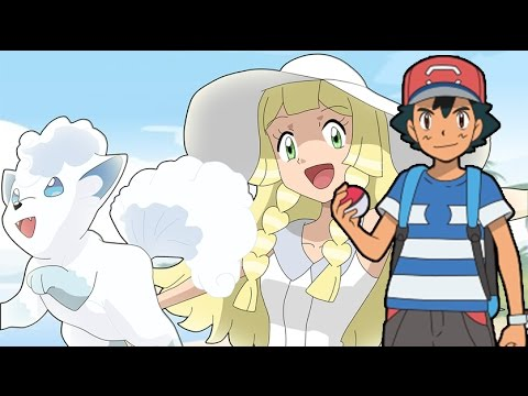 Ash and Lillie Shipping? Pokemon Sun and Moon Episode titles!