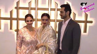 Rekha, Jeetendra, Esha Deol & Others At Hema Malini's 70th Birthday Party