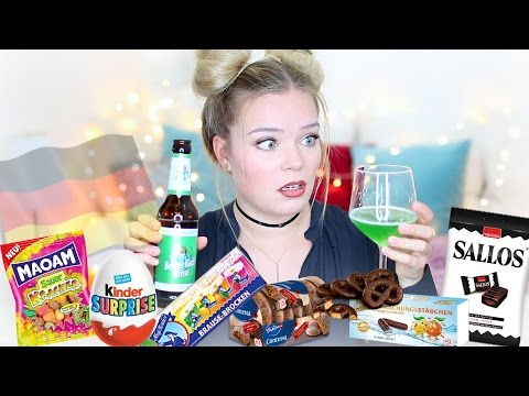 Trying German Candy ♡ Taste Test
