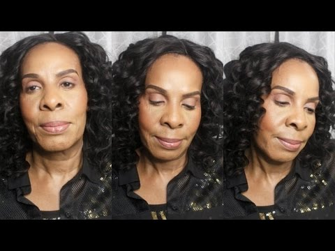 Makeup Transformation For Woman Over 50