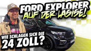 JP Performance - Wie schlagen sich die 24 Zoll? | Ford Explorer | LaSiSe