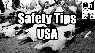 6 Safety Tips for Visiting America - Visit The USA