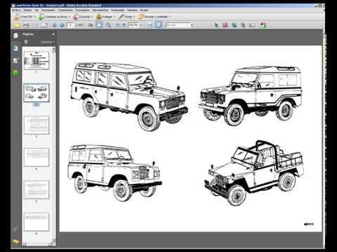 land rover santana serie iii - spare parts catalogue - despiece