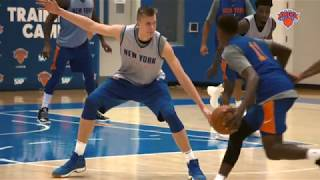Knicks Training Camp: Day 1 Highlights