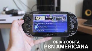 COMO MUDAR A PSN DO VITA | CRIAR CONTA AMERICANA