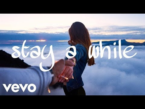 Stay A While - Kygo ft Halsey (Official Lyrics / Lyric Video)