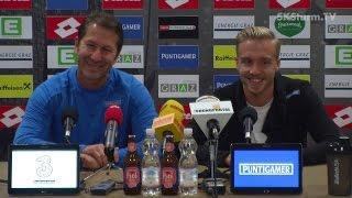SK Sturm: Mediabriefing vor SV Mattersburg (12. Runde 2016/17)