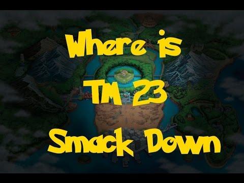 Where Is: TM 23 - Smack Down (Pokemon Black/White)