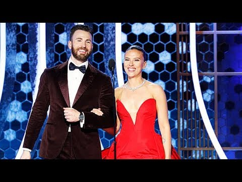 Chris Evans Helped Scarlett Johansson Avoid A Wardrobe Malfunction At Golden Globes —Watch from YouTube · Duration:  3 minutes 24 seconds