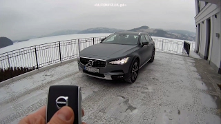 Volvo V90 Cross Country TEST POV Drive & Walkaround English subtitles