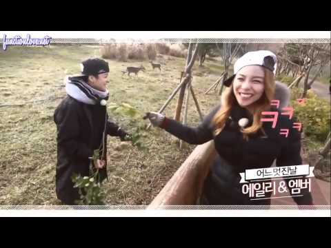 [ENG SUB] 141215 Ailee and Amber One Fine Day Preview