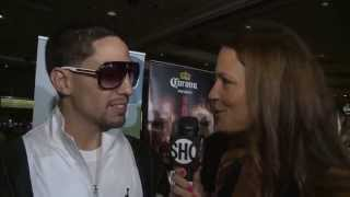 Danny Garcia - Quotes From Mgm Grand Arrivals - Showtime Boxing