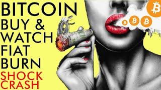 BUY BITCOIN WHILE PRICE STUCK IN LIMBO, WATCH FIAT BURN!! Big Cardano News! Crypto 2020