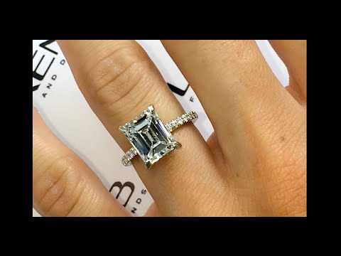 Carat Emerald Cut Diamond Engagement Ring