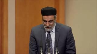Le calife de L'islam à Stockholm , Suède  -  Reception 2016