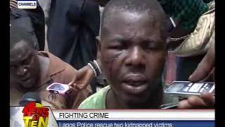 Fighting Crime:Lagos Police rescue two kidnapped victims