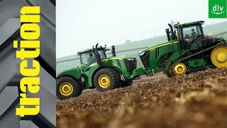 John Deere 9520R & 9570RT im traction-Erstkontakt
