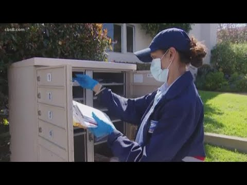 News 8's Ride-Along: USPS Still Delivering Mail During COVID-19