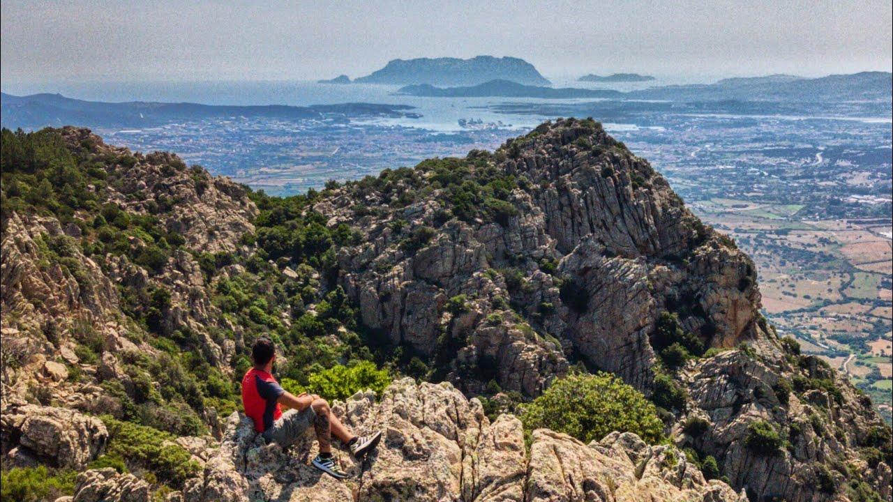 Monte Pino - Olbia - dal drone - YouTube