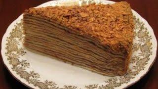 """Торт """"Шоколадный наполеон"""""""