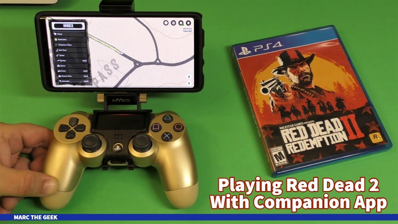 Playing Red Dead Redemption 2 With RDR2 Companion App