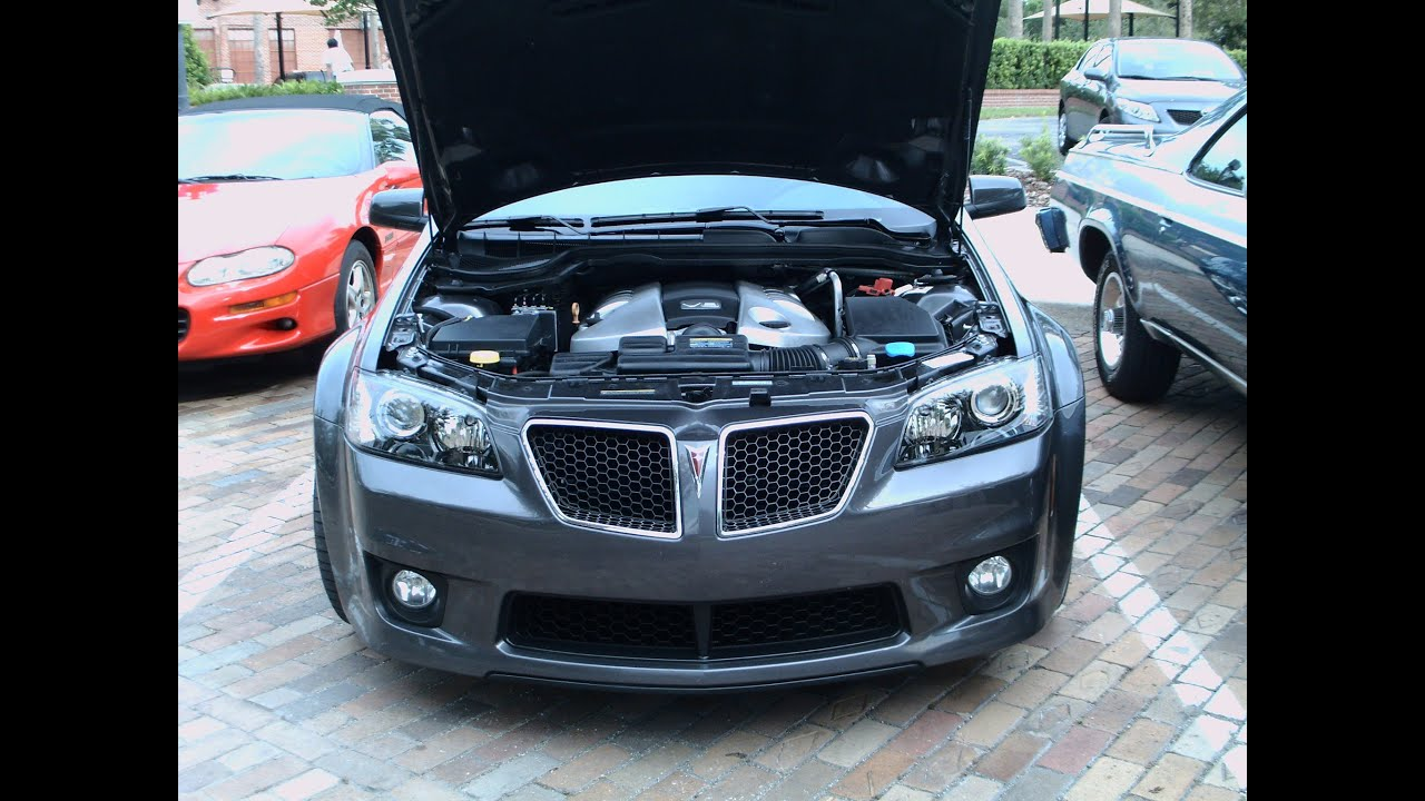 2009 Pontiac G8 GXP Four Door Sedan Gray WG081812 - YouTube