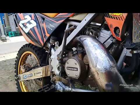 Review KLX Mesin Ninja, Bodi Gordon super kencang.