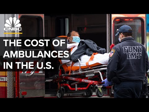 Why Ambulance Rides Are So Expensive In The United States