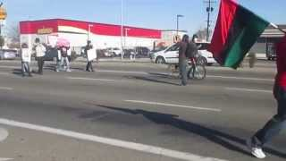 Rev. Harris Leads March In River Park Ferguson Verse Fresno Police Brutality In River Park Pt. 2