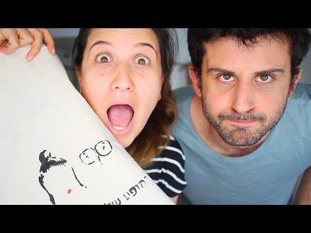 מחלקים מתנות לכבוד 20אלף | מכינים תיקים בבית | המופע של אמיר ולירון