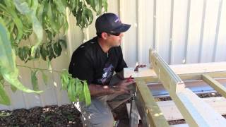 Timber Kit Buildings Installing Base Logs